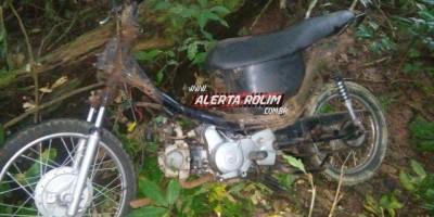 ROLIM DE MOURA: Moto que foi furtada em frente de escola é encontrada depenada em mata...