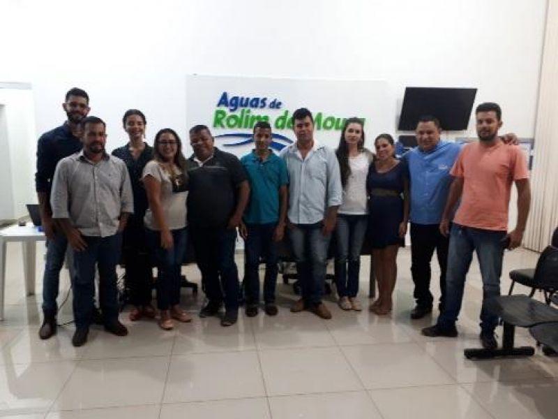 Águas de Rolim de Moura realiza reunião do Programa Afluentes com líderes comunitários