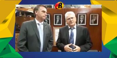 Ao lado de Bolsonaro, empresário rolimourense Zé Jodan lança pré candidatura ao...