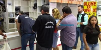 Blitz do MP e Procon em supermercados acaba com limitação da venda de alimentos