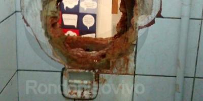 CAPITAL: Bandidos quebram parede e invadem agência bancária no Centro