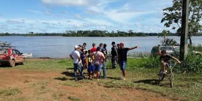 Corpo de um dos dois irmãos que naufragaram no Rio Mamoré é encontrado