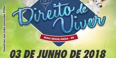 Está chegando!! 5° leilão Direito de Viver em Nova Brasilândia