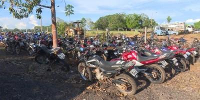 Polícia Rodoviária Federal realiza leilão com mais de 650 veículos em RO