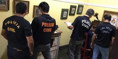 Policiais cumprem mandados para combater a pornografia infantil em RO