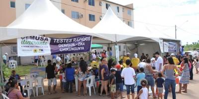 Projeto Semusa Itinerante atende comunidade da Vila Franciscana em Porto Velho