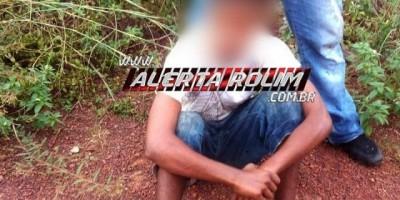 Rolim de Moura – Menor de 17 anos acaba detido por populares, após ser surpreendido...