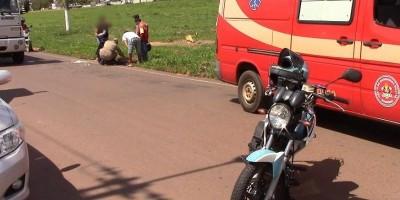 Rolim de Moura: Moto táxi ao realizar ultrapassagem derruba passageira na avenida 25 de...