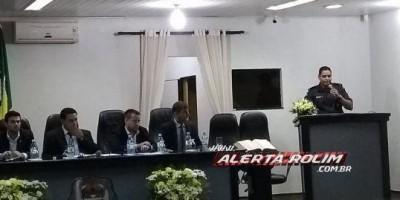 Rolim de Moura – Policial Militar, Bombeiro e Policial Civil são homenageados na...