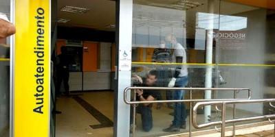 Agência do Banco do Brasil é alvo de bandidos na madrugada na zona Sul de Porto Velho