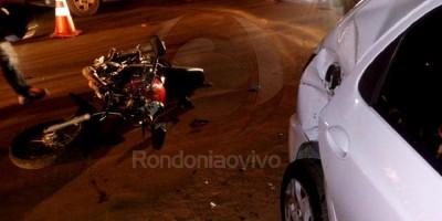Motociclista morre ao perder controle de veículo em lombada e bater em carro