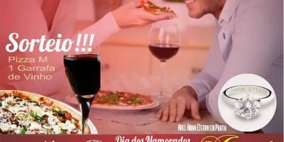 ROLIM DE MOURA: Donna Bella Pizzaria e Jarri Joalheiros sortearão no dia 11 jantar...