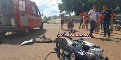 Rolim de Moura -Terceiro acidente de trânsito é registrado nesta sexta-feira