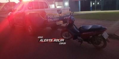 Rolim de Moura – Entregador de lanches tem moto roubada durante entrega, e algumas...