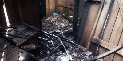 Homem é preso suspeito de atear fogo na casa da ex-mulher em distrito de Porto Velho