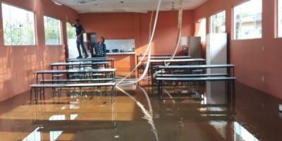 CABIXI: escola é destelhada e inundada pela segunda vez em menos de um mês