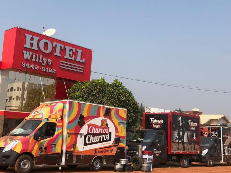 FOOD TRUCKS FESTIVAL: Big Bear Burger continua em Rolim de Moura até o próximo domingo