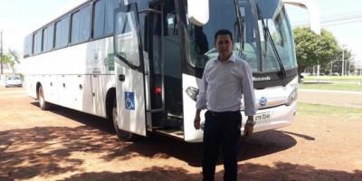 Novo Ônibus para atender a saúde de Rolim de Moura chega ao município