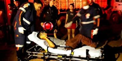 ATUALIZADA: Dois apenados são baleados após roubos na zona Sul