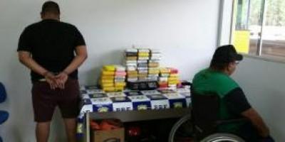 PRF prende dupla com 54 quilos de cocaína