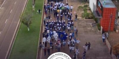 Caminhada Passos que Salvam em Rolim de Moura arrecada R$ 17 mil para o Hospital de Amor