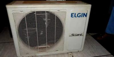 FLAGRANTE: Suspeito é preso furtando central de ar de distribuidora no Centro