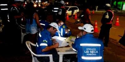 LEI SECA: Operação prende cerca de 20 condutores dirigindo embriagados