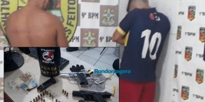 PM não dá trégua, mata foragido e prende outros dois durante troca de tiros em Porto...