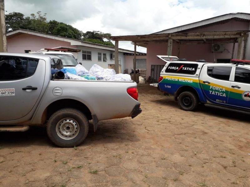 Remédios e documentos são apreendidos durante operação em prefeitura de RO