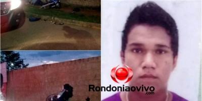 TRÁGICO: Motociclista perde controle da direção e morre ao bater em muro