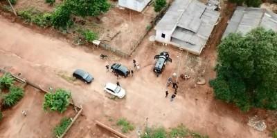 Três pessoas são presas durante operação policial contra roubos em Alvorada do Oeste,...