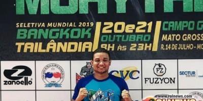 Atleta de Rolim de Moura é convocado para campeonato mundial de artes maciais e precisa...