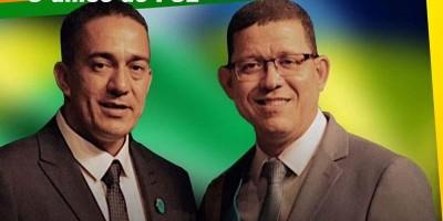 Coronel Marcos Rocha apresenta sargento Eyder Brasil, seu candidato à presidência da...