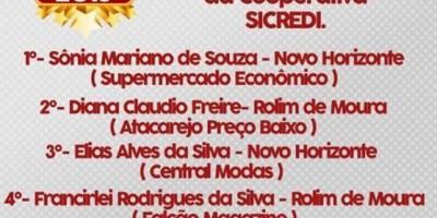 Ganhadores das Motos da Promoção Ano Novo Premiado da Acirm