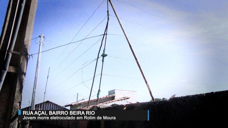 Homem morre após receber descarga elétrica de cerca improvisada no muro de residência no Bairro Beira Rio
