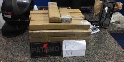 Polícias apreendem 22 kg de droga durante operação em Cacoal, RO
