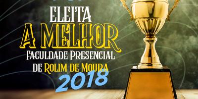 Rolim de Moura - Faculdade São Paulo é destaque no troféu ACIRM 2018