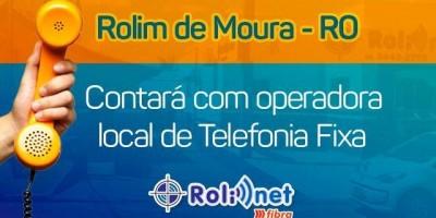 Rolim Net/Norte Tel lançará serviço de telefonia fixa em Rolim de Moura