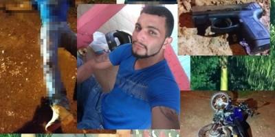 Assaltante morre durante troca de tiros com a Polícia Militar em Pimenta Bueno
