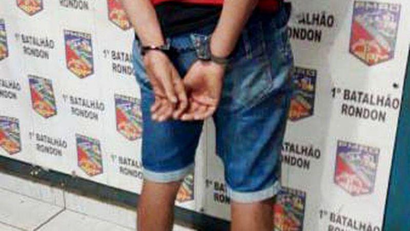 DENUNCIADO: Adolescente é flagrado com motocicleta roubada em condomínio da  capital