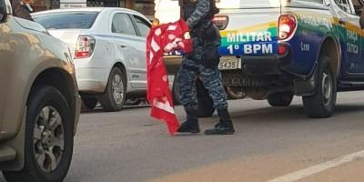 Estudantes relatam repressão pela PM durante manifestação em Porto Velho