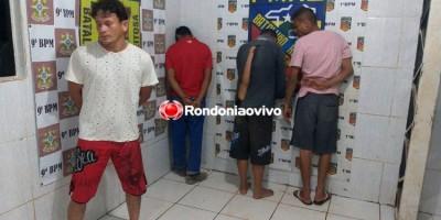 INSTINTO: Equipe do Gusmão prende quatro suspeitos em três ocorrências distintas