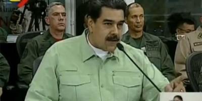 Maduro diz que fechará fronteira da Venezuela com o Brasil nesta quinta