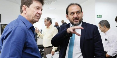 Presidente Laerte Gomes recebe visita do ex-senador Ivo Cassol