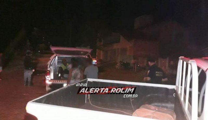 Rolim de Moura – Após tentativa de roubo a uma mulher, dois bandidos são presos pela equipe da Ptran da Polícia Militar