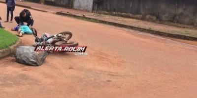 Rolim de Moura – Motociclista invade preferencial, provoca acidente e logo sem seguida...