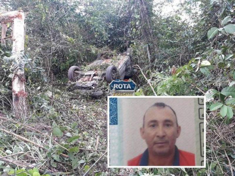 VILHENA: Gerente de fazenda morre após passar direto em curva na BR 364