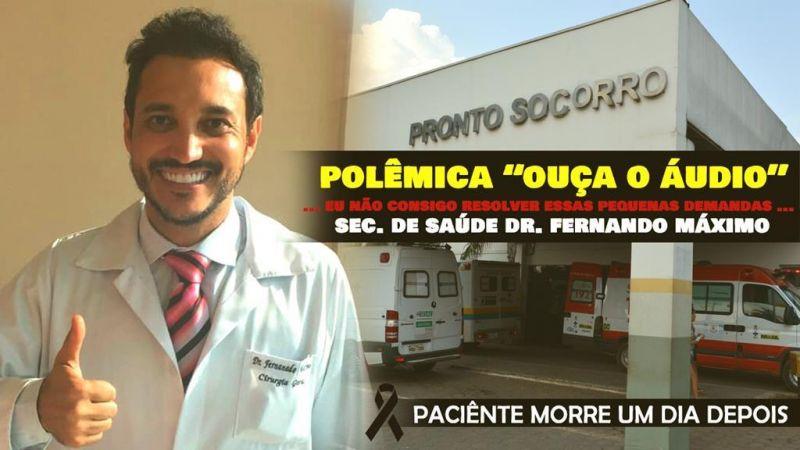 Burocracia no sistema de saúde provoca morte de Ji-Paranaense no João Paulo II; prima pediu ajuda do Secretário de Saúde Dr. Fernando Máximo