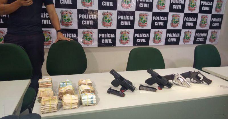 Chefão de facção criminosa responsável por 4 homicídios é preso em Fortaleza