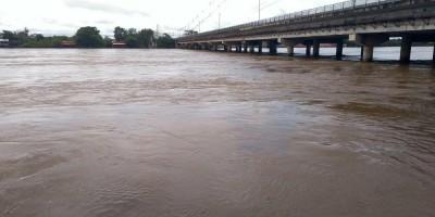 Cheia do Machado deixa 70 famílias desalojadas em Ji-Paraná, RO; nível do rio cai